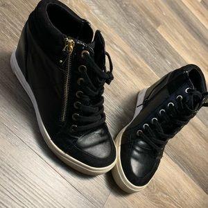 Aldo wedge sneakers.